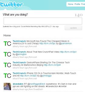 Twitter σε δράση