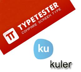 Kuler & Typetester