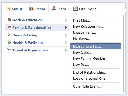 Facebook life event εικ.2